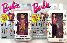 Barbie Teen Age Fashion Model Keychains Picnic Barbie + Live Action Barbie NIB