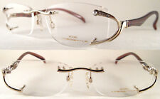 Rare Mozart Neostyle Handmade Damenbrille im Perlenschmuck Kunstvolles Design*
