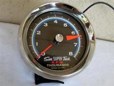 1960's Sun Super Tachometer 8,000 RPM SST-802 Muscle Car Tach Hot Rat Rod WORKS!