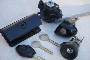 2005 BMW 330XI e46 Ignition Door Trunk Glove LOCK CYLINDER Key Diamond Remote