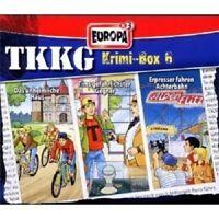 TKKG - TKKG KRIMI-BOX 06 3 CD ++++++++++++++++ NEU