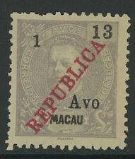 MACAO, MINT, #209, NGAI, GREAT CENTERING