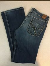 "Buckle BKE ""Stella"" Low Rise Boot Cut Stretch Jeans - Med Wash - Sz 29 x 31 1/2"