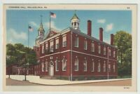 Unused Postcard Congress Hall Philadelphia Pennsylvania PA