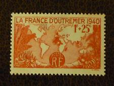 France 1939 1fr+25c Overseas Propaganda Fund vf MINT hinged SG 661