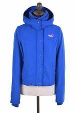 HOLLISTER Womens Padded Jacket Size 6 XS Blue Polyester  JC12