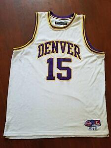 Reebok Carmelo Anthony Denver Rockets Hardwood Jersey sz XL Dfunkd Nuggets Melo