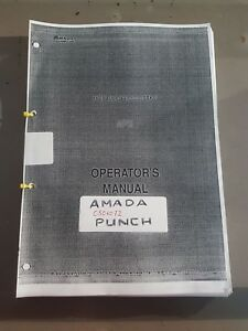 AMADA C506072 MANUALS £100 + VAT