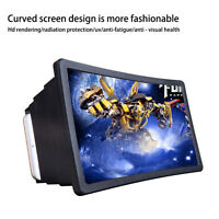 Foldable Cell Phone Screen Magnifier HD Expander With Holder/Stand Universal 3D