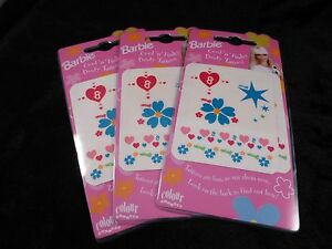 Barbie Temporary Body Tattoos - Super Cool Ideal for Party Bags / Small Presents