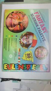 Eulenspiegel Kinderschminke Theaterschminke Fantasy Schmink Palette