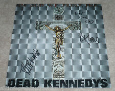 DEAD KENNEDYS BAND SIGNED AUTOGRAPH RECORD ALBUM FLAT 12X12 PHOTO w/COA X3 PROOF