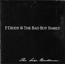 P. Diddy & The Bad Boy Family (PA) The Saga Continues 2001 CD Bad Boy Records!!
