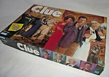 Clue Classic Detective Game Replacement Box 1998 Wall Decor Instructions Parker