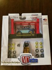 M2 Machines Model-Kit 1956 VW Beetle Deluxe USA Model Blue R18 GOLD CHASE *NEW*