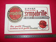 BUVARD CIRAGE SYMPABRILLE CHAUSSURES STE CORDE GONNET GAYET LYON 1950-1960