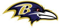 Baltimore Ravens Decal ~ Car / Truck Vinyl Sticker - Wall Graphics, Cornholes
