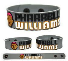 PHARRELL WILLIAMS Rubber Bracelet Wristband Happy Girl