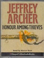 Jeffrey Archer Honour Among Thieves 2 Cassette Audio Book Abridged Thriller