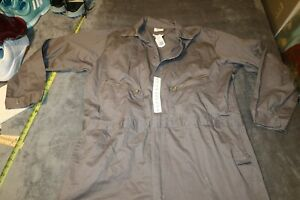 NWT WALLS Master Made GRAY Coveralls Men's 54 Tall BRAND NEW