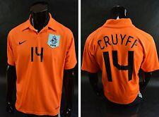 2006-08 NIKE KNVB NETHERLAND Holland Home Shirt Johan CRUYFF 14 Cruijff SIZE L
