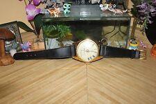 Antique High Sensitivity Transistor Radio Clock 517 Japan Watch Novelty Dial