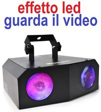 "EFFETTO LUCE PROFESSIONALE A LED ""NOMIA"" MULTICOLORE alta luminosita' VIDEO new"