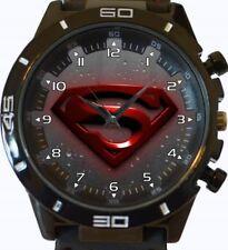 Reloj Pulsera logotipo de Superman Nueva Serie GT Deportes Unisex Regalo