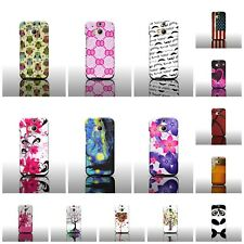 For HTC One (M8) / M8 for Windows Colorful Custom Design Hard Plastic Phone Case