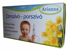 Baby Vac Nose Nasal Aspirator Infants Children Arianna Suctioning Device Free Sh