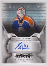 GRANT FUHR 2017-18 17-18 UD Artifacts Lord Stanley's Legacy Signatures Auto sp