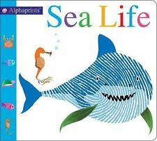 Alphaprints: Sea Life by Roger Priddy (2018, Board Book), Brand New