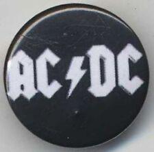 AC/DC Original Badge Button