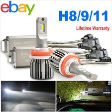 H11 H8 H9 LED Headlight Bulbs Conversion 72w 10800LM Kit Hi/Lo Beam 6000K White