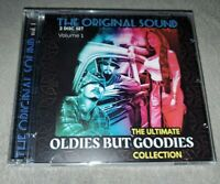 THE ORIGINAL SOUND 2 DISC SET THE ULTIMATE OLDIES BUT GOODIES COLLECTION