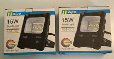 Melpo 15W Led Outdoor Flood Light with Remote - Mefa02Fl1501-2 Pk