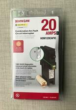 New Circuit Breaker Square D Homeline  20 Amps HOM120CAFIC