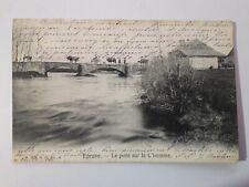 CPA, Carte Postale Eprave Le Pont Sur L'homme 1907