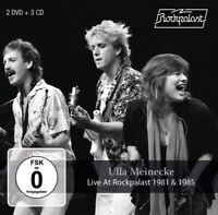 ULLA MEINECKE - LIVE AT ROCKPALAST 1981 AND 1985 (3CD+2DVD)  4 CD+DVD NEUF