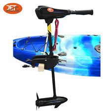 Jetocean 55lb Kayak Canoe Inflatable Boat Trolling Electric 12V Motor 92cm Shaft