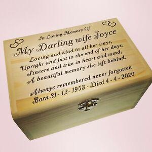 Large Ashes Scattering Box Urn For Mum, Dad, Nan, Grandad, Husband, Wife, Sister