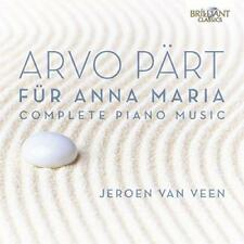 Jeroen Van Veen - Arvo Part: Complete Piano Music - Für Anna Maria (NEW 2CD)