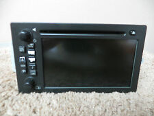 06 07 CHEVROLET TRAILBLAZER SS RADIO OEM FACTORY AM FM CD PLAYER GPS NAVIGATION