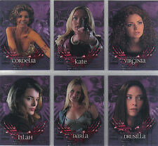 ANGEL SEASON TWO COMPLETE SET OF 6 L.A. WOMEN CARDS