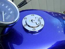 Tankdeckel Aero Design Chrom HarleyTank Sportster Dyna