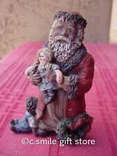 "Sarah's Attic 'Love The Children Santa"" Flat Back Le Figurine #3672 w/Coa Rare!"