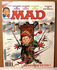 """rare mensuel BD """" MAD """" français n°4 - 1981"""