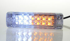 PAIR of LED Indicators, Signals + DRL or Park lights For ARB Bullbars 135 x 38mm