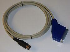 Commodore und Atari SCART Kabel Composite Video (FBAS) 3 Meter.