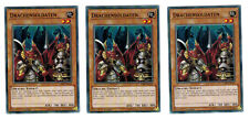 3 x drachensoldaten cibr-de032, 1 ère Edition, Common, Mint, PLAYSET